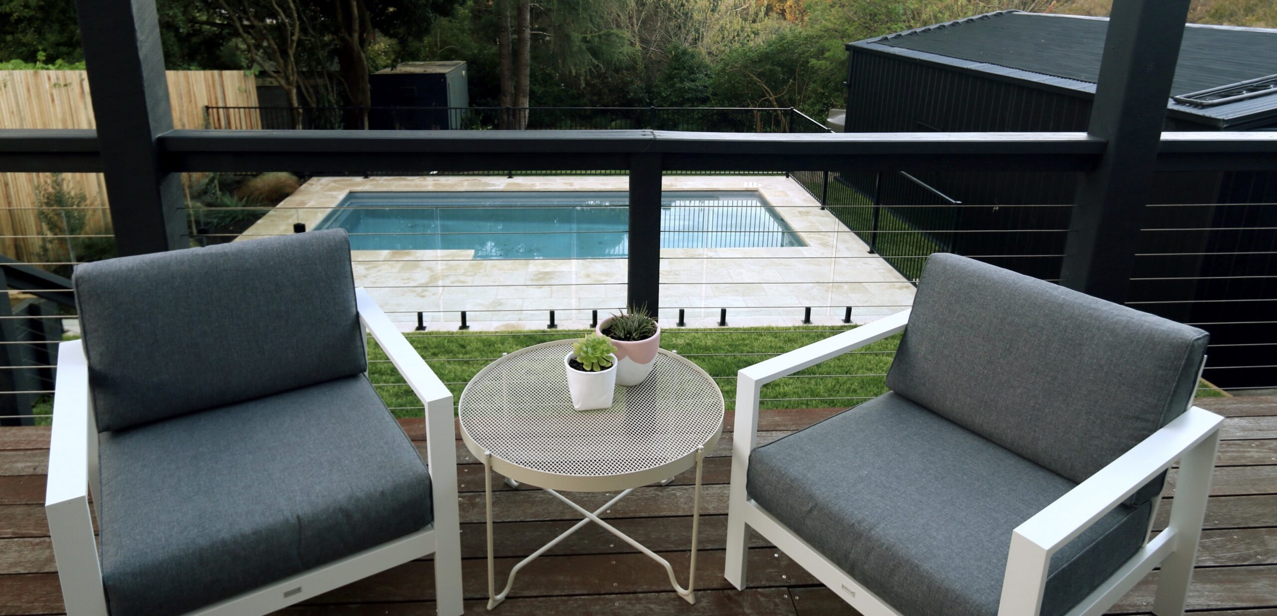 Mt martha holiday rentals - the grove pool deck and lounge