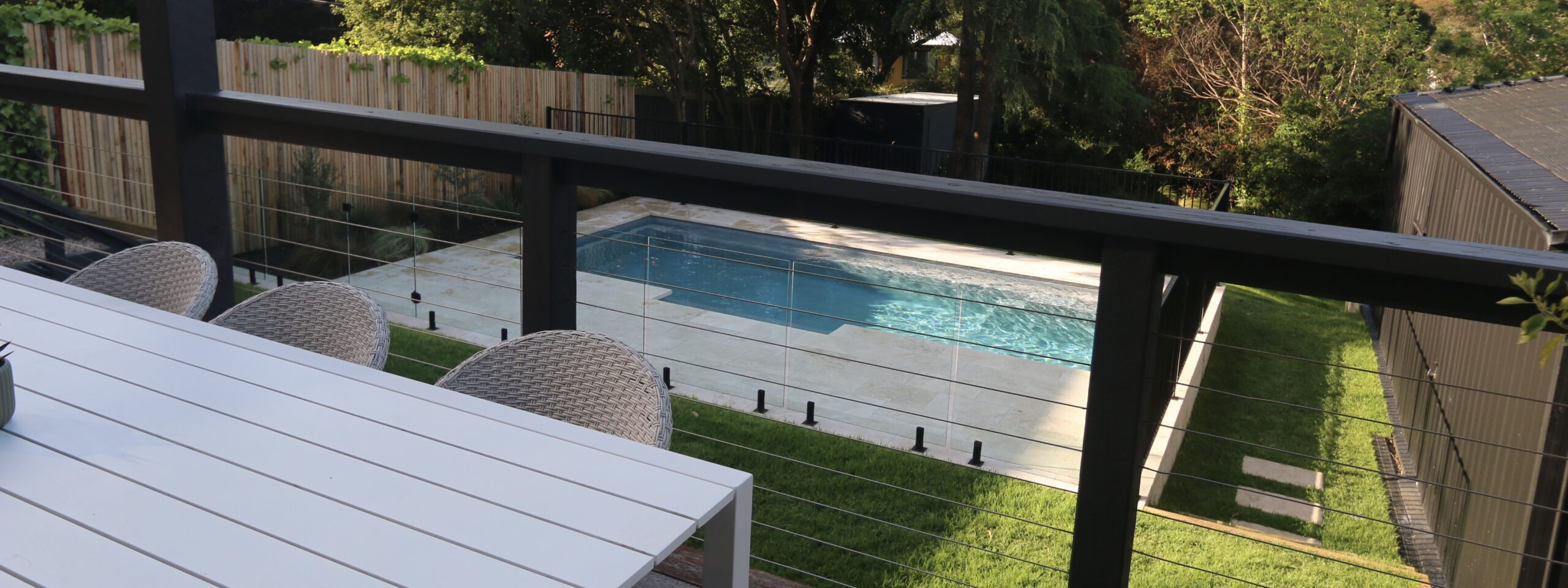 Mt martha holiday rentals - the grove deck dining