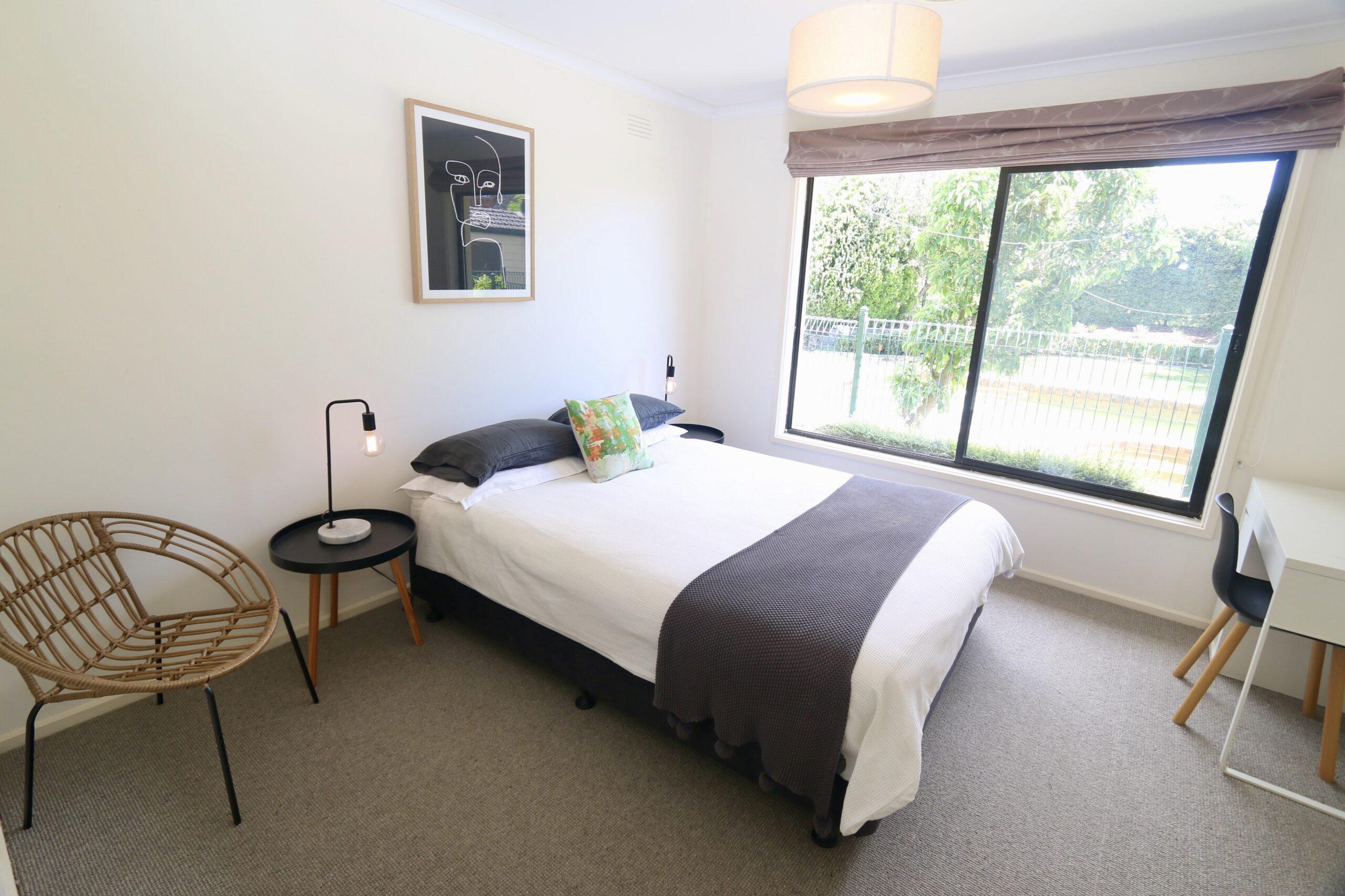 bedroom 1. Adalong Park, holiday rental Moorooduc.