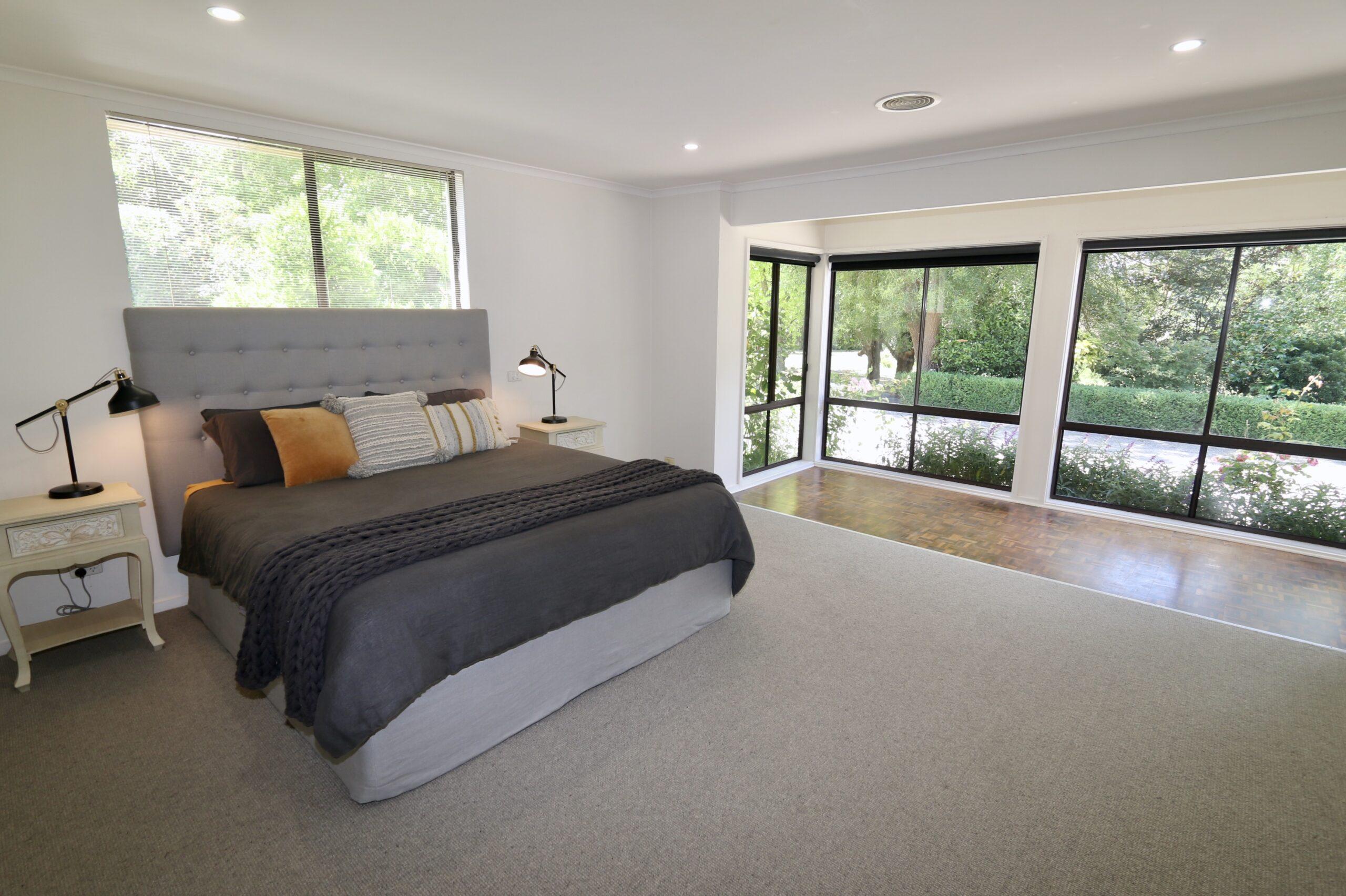 Moorooduc holiday rental, master bedroom